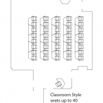 classroom style layout